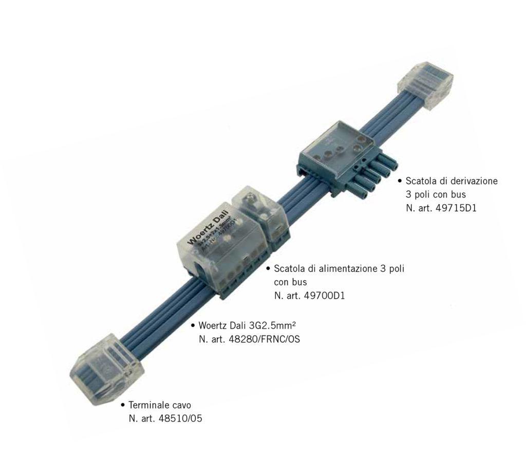sistema dali woertz ag grado di protezione ip20