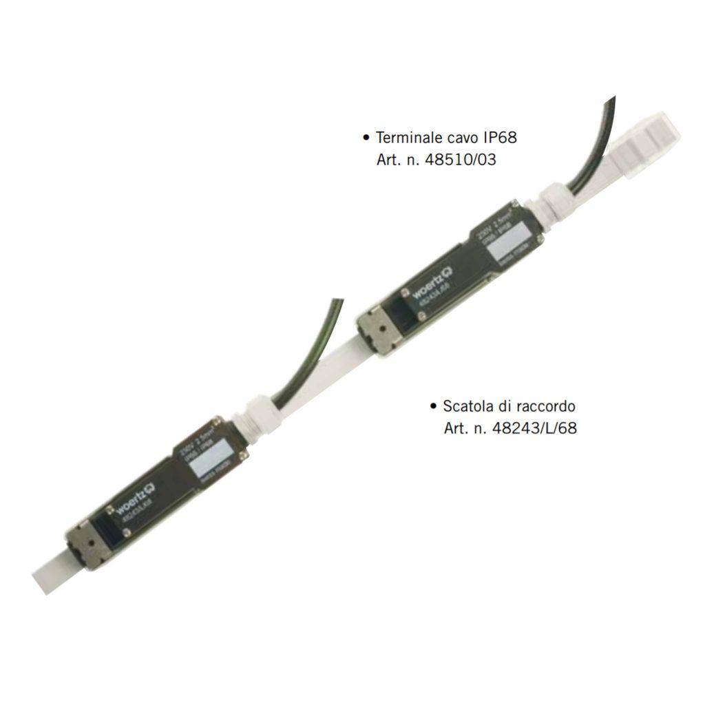 componenti con gradi di protezione ip 68 waterproof